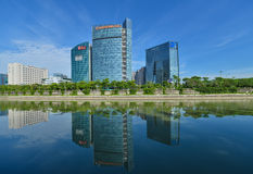 Shenzhen techniki park Obraz Stock