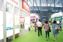 Shenzhen teexpo Arkivbild