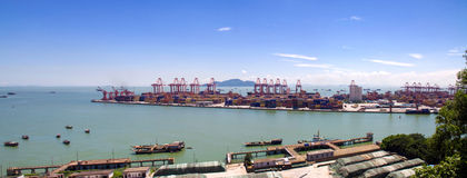Shenzhen terminals Royalty Free Stock Photo