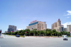 Shenzhen traffic intersection Royalty Free Stock Photography