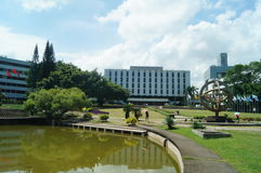 Shenzhen University: campus environment Stock Photo