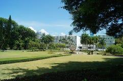 Shenzhen University: campus environment Royalty Free Stock Images