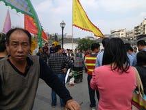 Shenzhen urban management in law enforcement, China Stock Photo