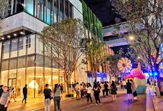 Shenzhen Vientiane zakupy Światowa ulica zdjęcia stock