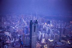 Shenzhen View from Above Royalty Free Stock Photo