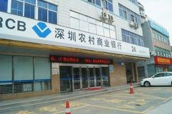 Shenzhen Wiejski Commercial Bank Obrazy Stock