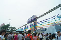 Shenzhen window of the world Stock Image