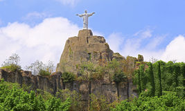 Shenzhen window of the world : christ the redeemer - rio de janiero Stock Image