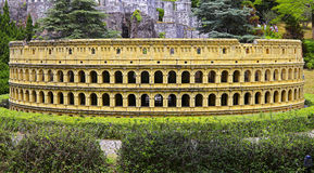Shenzhen window of the world : replica of the colosseum - italy Stock Photography