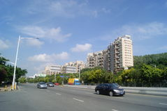 Shenzhen Xixiang Avenue traffic landscape Stock Photography