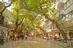 Shenzhen Xixiang commercial pedestrian street Stock Image