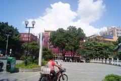 Shenzhen Xixiang commercial street landscape Stock Photography