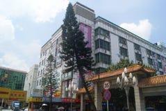 Shenzhen Xixiang Gate street landscape, in China Stock Photos