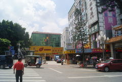 Shenzhen Xixiang Gate street landscape, in China Stock Photography