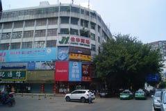 Shenzhen Xixiang Gate street landscape, in China Stock Photo