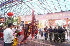 Shenzhen Xixiang Pak Tai Temple Landscape Fotos de archivo libres de regalías