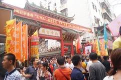 Shenzhen Xixiang Pak Tai Temple Landscape Stock Image