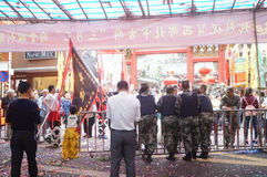 Shenzhen Xixiang Pak Tai Temple Landscape Royalty Free Stock Photo