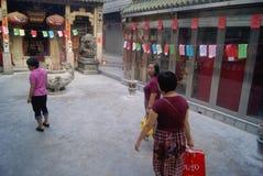 Shenzhen Xixiang Pak Tai Temple Landscape Royalty Free Stock Photos