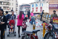 Shenzhen Xixiang rynek Obrazy Royalty Free