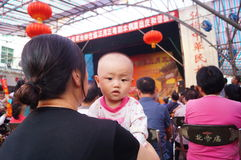 The Shenzhen Xixiang Temple celebrations performances Stock Image