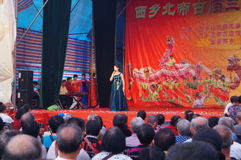 The Shenzhen Xixiang Temple celebrations performances Stock Photo