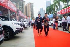 2017 Shenzhen zachodni międzynarodowy auto przedstawienie Fotografia Stock
