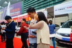 2017 Shenzhen zachodni międzynarodowy auto przedstawienie Obrazy Royalty Free
