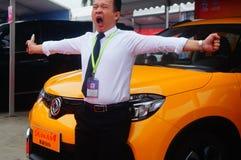2017 Shenzhen zachodni międzynarodowy auto przedstawienie Fotografia Royalty Free