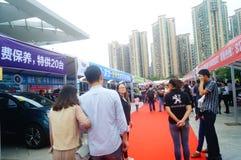 2017 Shenzhen zachodni międzynarodowy auto przedstawienie Zdjęcie Stock