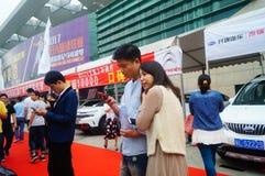 2017 Shenzhen zachodni międzynarodowy auto przedstawienie Obraz Royalty Free