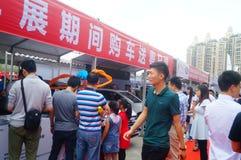 2017 Shenzhen zachodni międzynarodowy auto przedstawienie Zdjęcia Stock