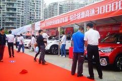 2017 Shenzhen zachodni międzynarodowy auto przedstawienie Zdjęcie Royalty Free