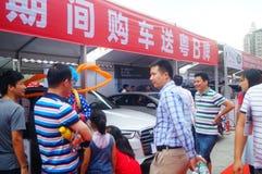 2017 Shenzhen zachodni międzynarodowy auto przedstawienie Zdjęcia Royalty Free