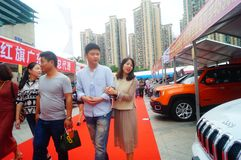 2017 Shenzhen zachodni międzynarodowy auto przedstawienie Obraz Stock