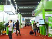 Shenzhen zdrowie przemysłu Międzynarodowy Mobilny expo zdjęcia stock