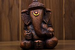 Lord ganesh. Sheoganj, india - August 27 2018, indian Hindu Deities with Ganesh Sculptures Architectural detail royalty free stock photography