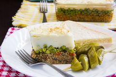 Shepard pie Royalty Free Stock Images