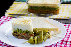 Shepard pie Royalty Free Stock Photos