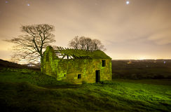 Shepards ruins - old derelict barn Royalty Free Stock Photo