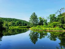 Free Shepaug River Summer Views Royalty Free Stock Photography - 161986187