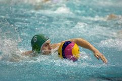 Shepelev Roman. Sintez(Kazan) team of waterpolo Stock Photo