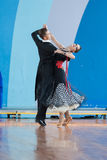 Shepelev Vladislav e programma di norma di Vinnik Aleksandra Perform Youth-2 Immagini Stock