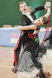 Shepelev Vladislav and Vinnik Aleksandra Perform Youth-2 Standard Program on National Championship Royalty Free Stock Photos