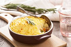 Sheperd's pie Royalty Free Stock Photography