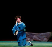 The shepherd boy-Jiangxi opera� Breeze Pavilion Royalty Free Stock Photos