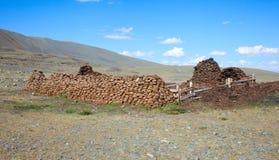 Shepherd dwelling Stock Photography