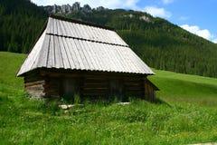 Shepherd hut in the Tatra mountains Royalty Free Stock Photos