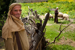 Shepherd at Nazareth Village Royalty Free Stock Photo