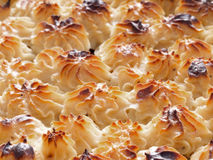 Shepherd pie potato crust Royalty Free Stock Image